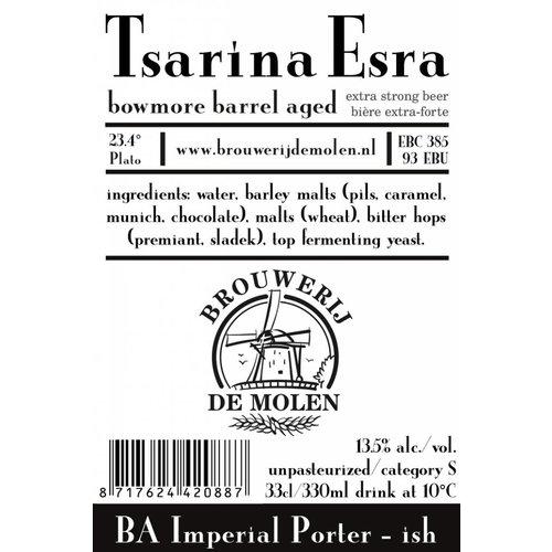 Brouwerij de Molen Tsarina Esra Bowmore BA