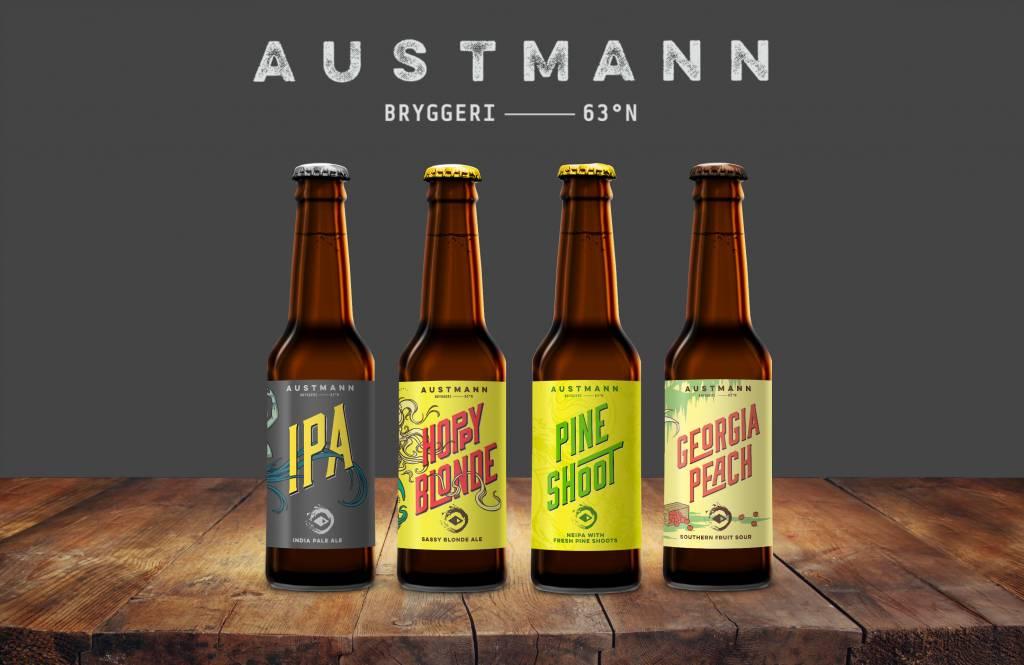 Gebalanceerde Austmann bieren