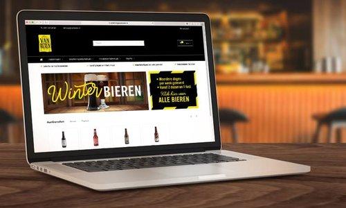 Lancering nieuwe website met actie op The Flying Dutchman bieren