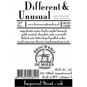 Brouwerij de Molen Different & Unusual