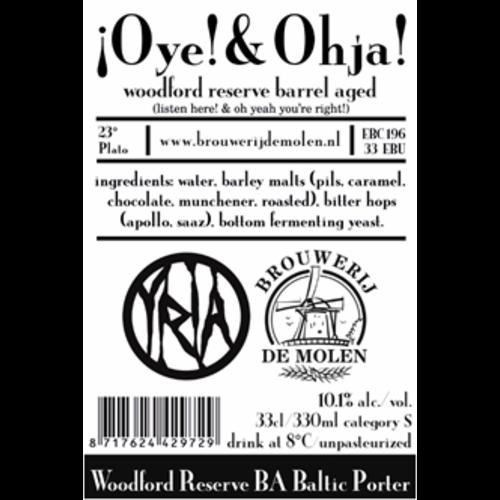 Brouwerij de Molen Oye & Ohja Woodford Reserve