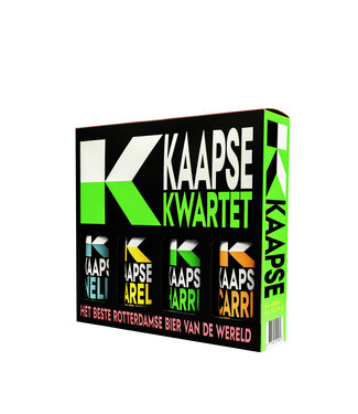 Kaapse Brouwers Kaapse Brouwers Cadeauverpakking 4-Pack