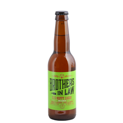 Brothers In Law 0.5 Hoppy Lager