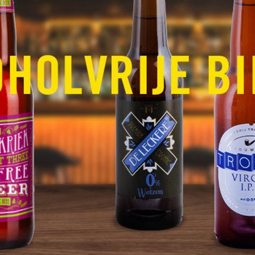 Nederland wordt blij van alcoholvrij