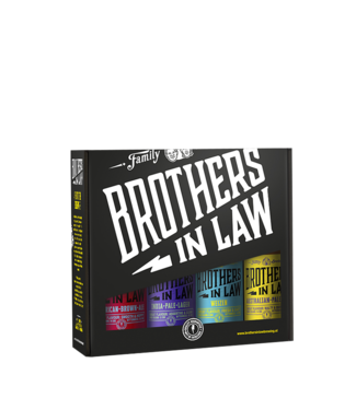 Brothers In Law Brothers In Law Cadeauverpakking 4-Pack