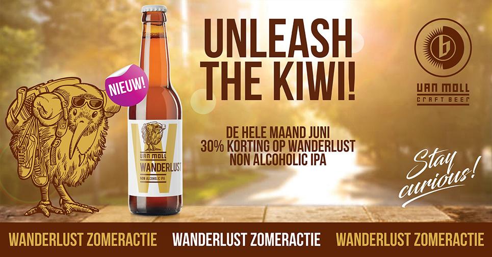 Nieuwe Belgian IPA & 30% korting op Van Moll Wanderlust!