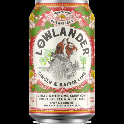 Lowlander Ginger & Lime Blik
