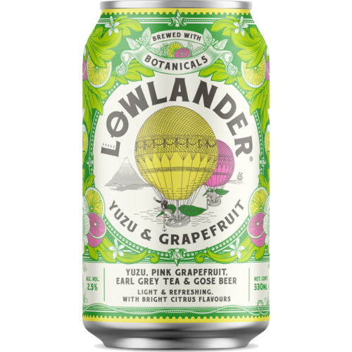 Lowlander Yuzu & Grapefruit Blik