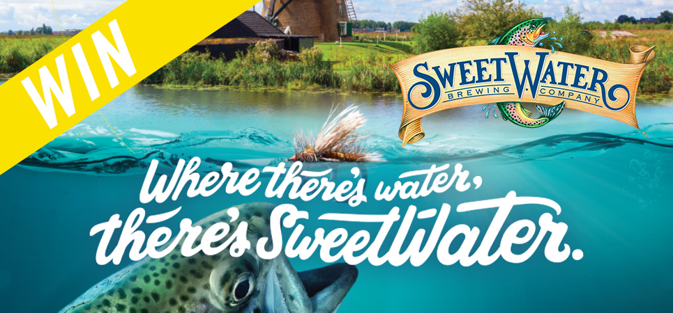 Win een Big Green Egg met SweetWater Brewing Company!