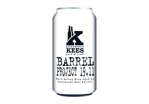 Brouwerij Kees Barrel Project 19.11