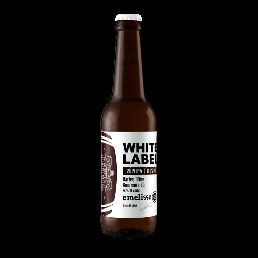 Emelisse White Label No.4 Barley Wine Bowmore BA Editie 1 - 2019