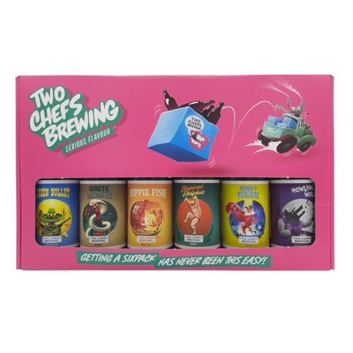 Two Chefs Brewing Cadeauverpakking 6-Pack