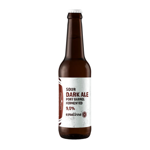 Emelisse Sour Dark Ale Port Barrel Fermented