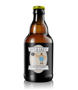 Vet&Lazy Brouwerij Vet&Lazy Brouwerij Dubbel Wit Zomer Fit 24x33CL