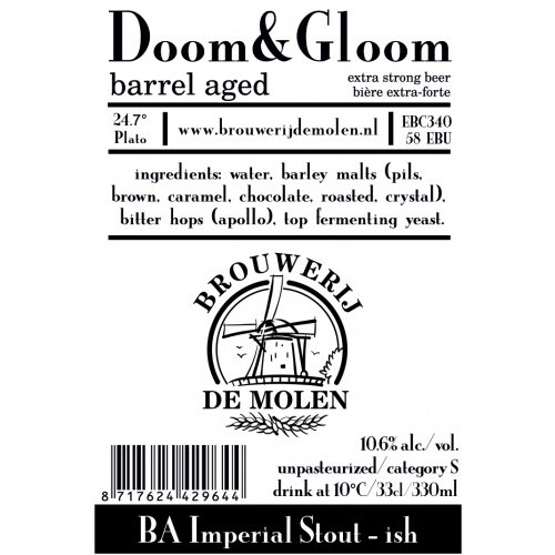 Brouwerij de Molen Doom & Gloom