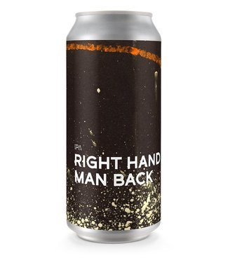 Boundary Brewing Boundary Brewing Right Hand Man Back
