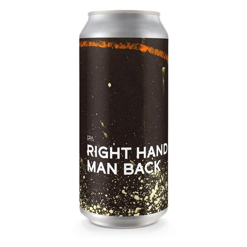 Boundary Brewing Right Hand Man Back