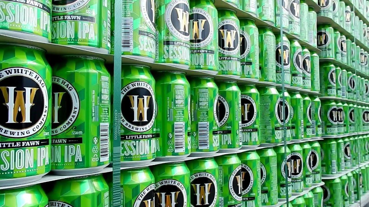 Groot assortiment bieren in blik