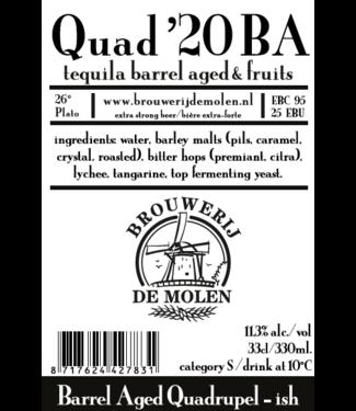 Brouwerij de Molen Brouwerij de Molen Quad '20 BA 24x33CL