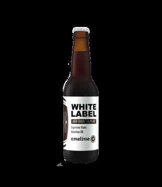 Emelisse Emelisse White Label Espresso Stout Bourbon BA - 2020 12x33CL