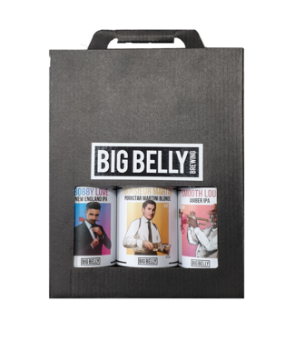 Big Belly Big Belly Cadeauverpakking 3-Pack 8x3x33CL