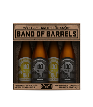 100 watt 100 Watt Band of Barrels cadeauverpakking 4-Pack