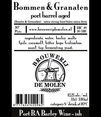 Brouwerij de Molen Brouwerij de Molen Bommen & Granaten Port BA