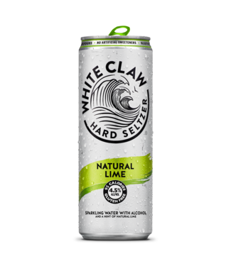 White Claw White Claw Natural Lime 12x33CL