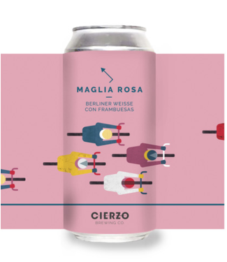 Cierzo Brewing Cierzo Brewing Maglia Rosa 24x44CL