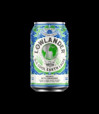 Lowlander Lowlander 0.3% Cool Earth Lager Blik 12x33CL