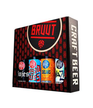 Brouwerij Bruut Brouwerij Bruut Cadeauverpakking 4-Pack 6x4x33CL