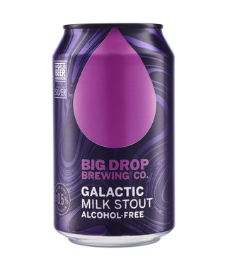 Big Drop Brewing Big Drop Brewing Galactic Milk Stout Blik 12x33CL