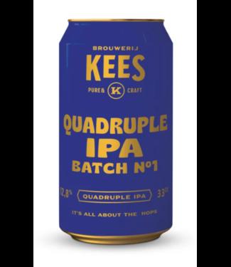 Brouwerij Kees Quadruple IPA 24x33CL