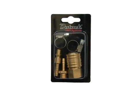 Dutack Insteeknippel, Slangpilaar, Slangklemmen en Snelkoppeling (Orionpassing)