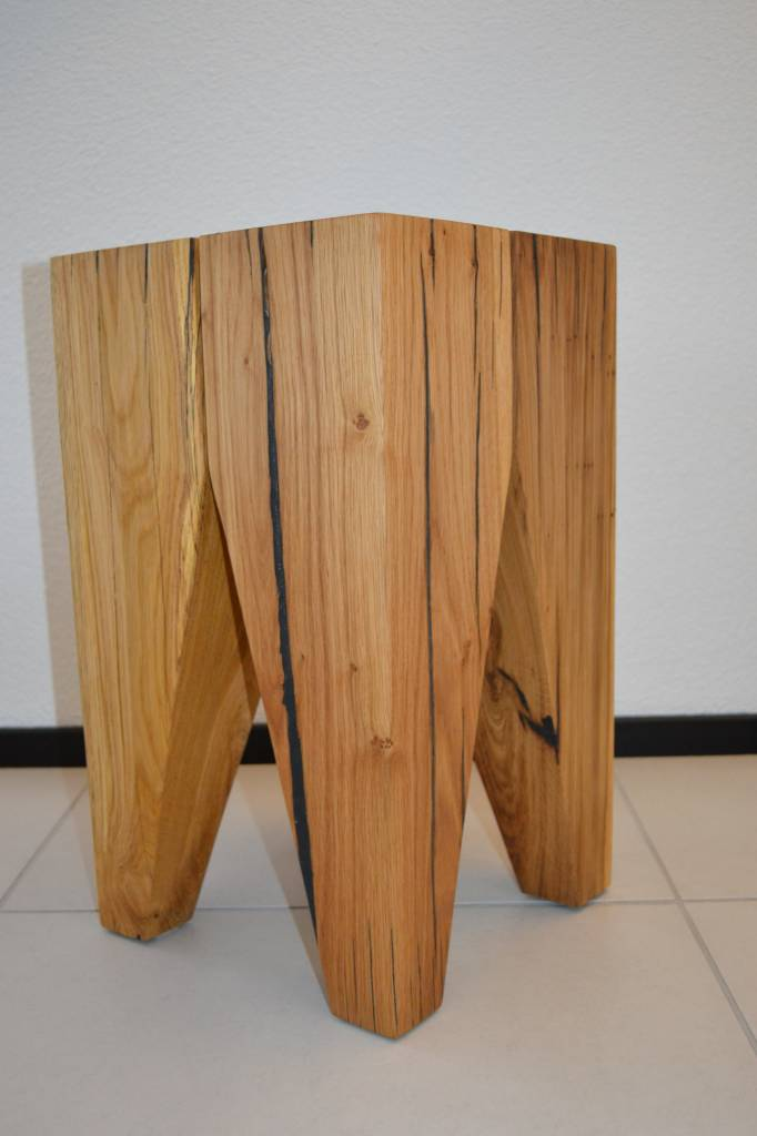 Wood Dream Backenzahn Hocker ANESA