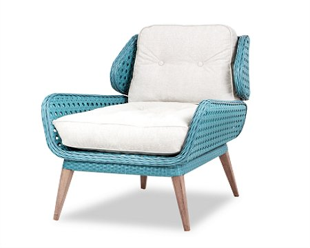 Wood Dream Rattan Lounge Alba
