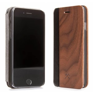 iPhone XR EcoFlip Walnuss