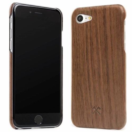 iPhone X/XS EcoCase Slim Walnuss