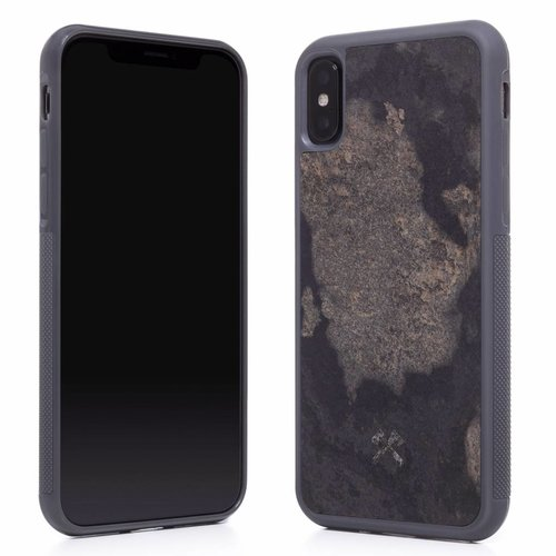 iPhone X/XS/XS Max - Stone Edition EcoBump Granite Gray