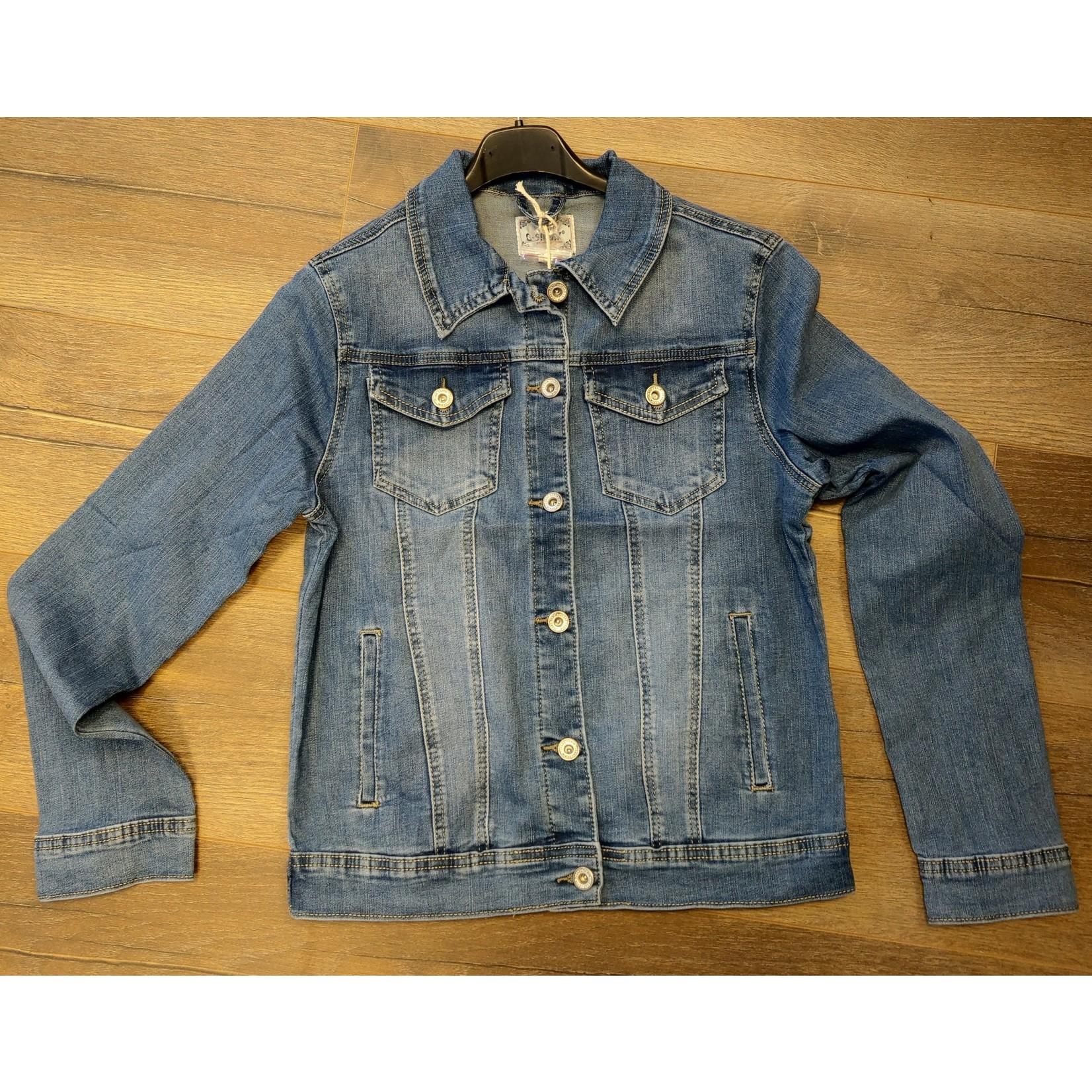 jeans jasje tot 5XL ( ook grote maten )