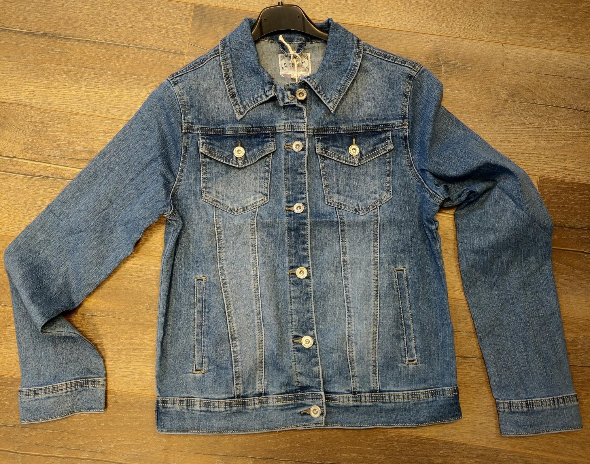 jeans jasje ( ook grote maten )