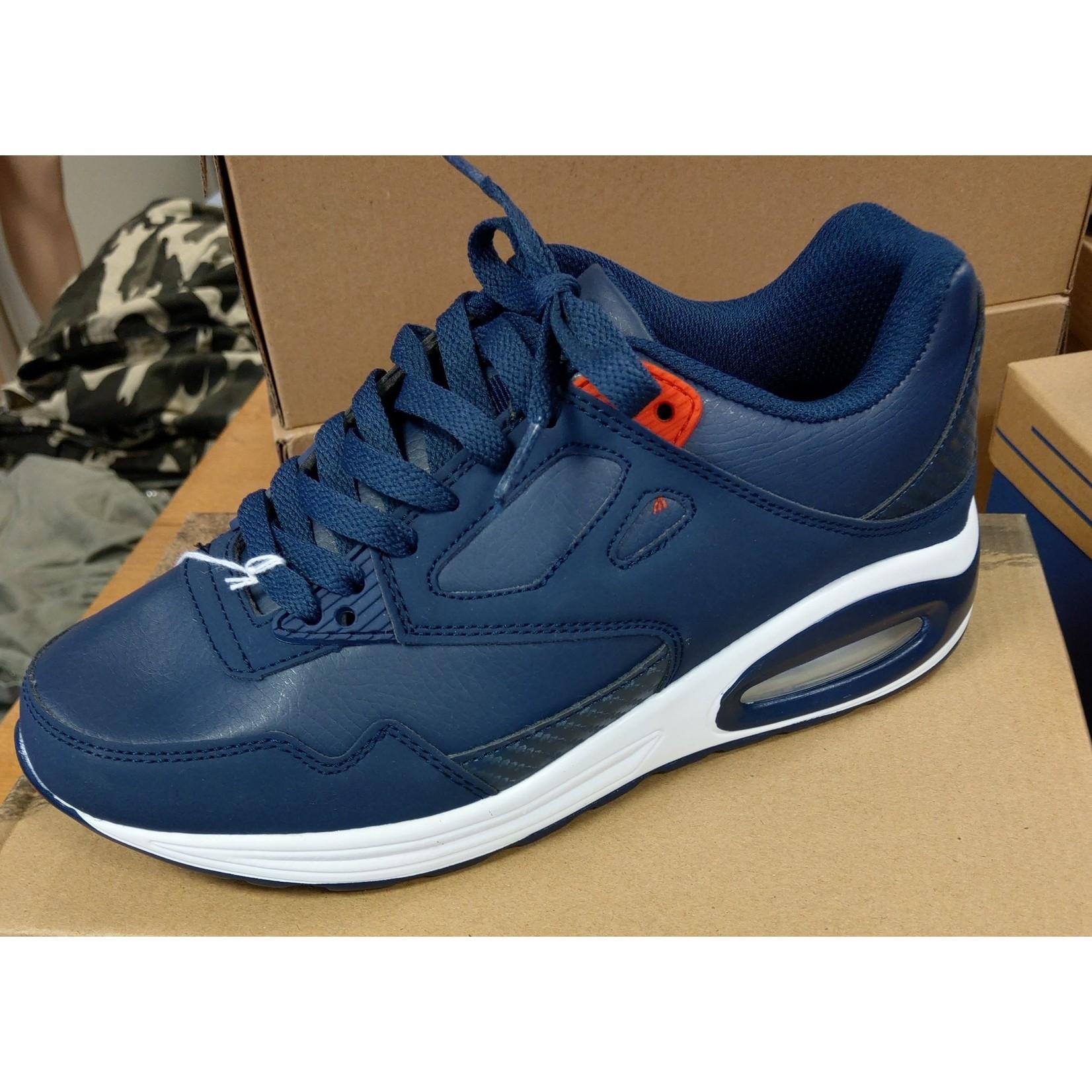 Sneaker unisex Blauw/Rood
