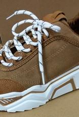 sneaker camel/wit