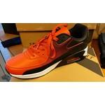 Sportieve Sneaker unisex Rood/Zwart met witte zool