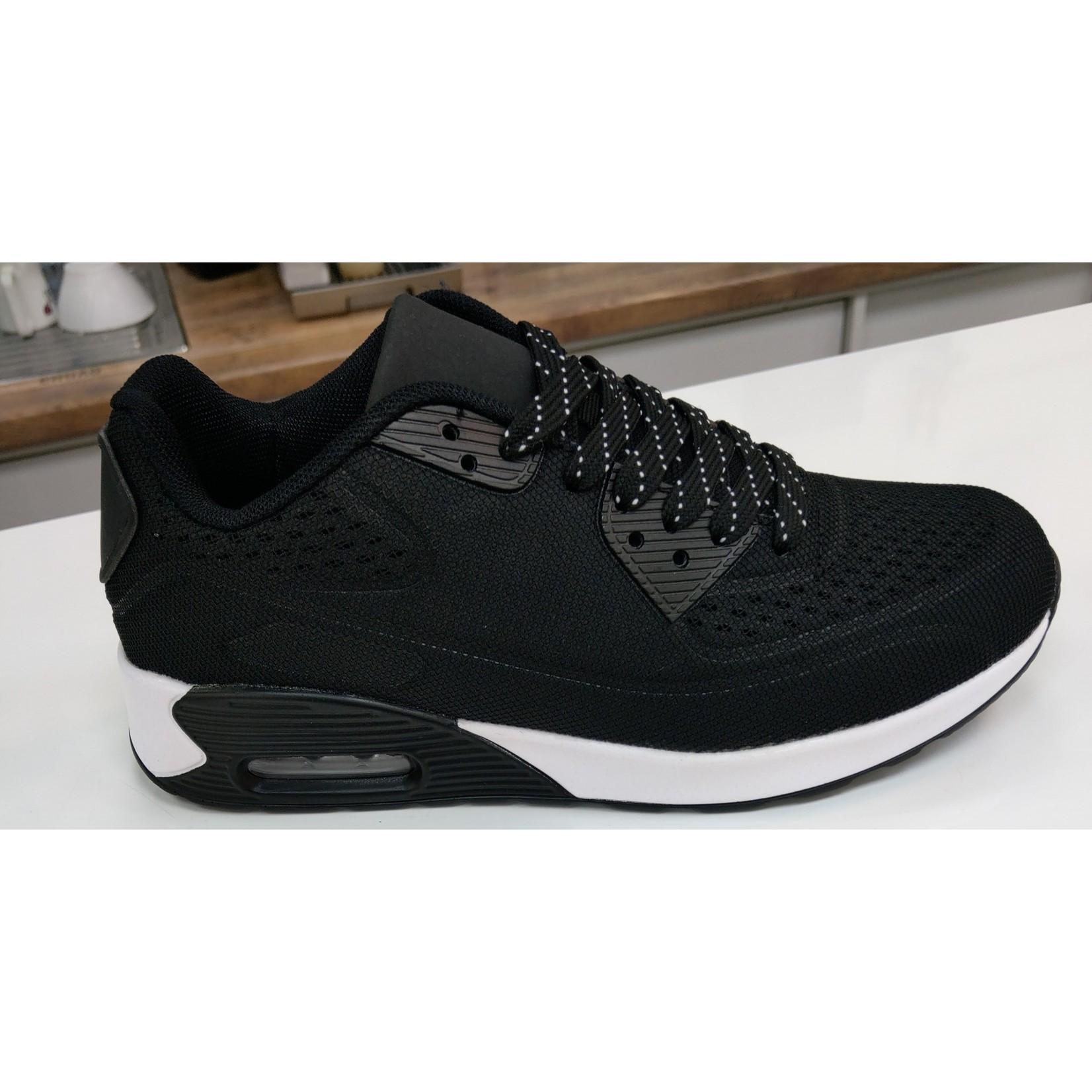 Sportieve Sneaker Zwart/Wit 2