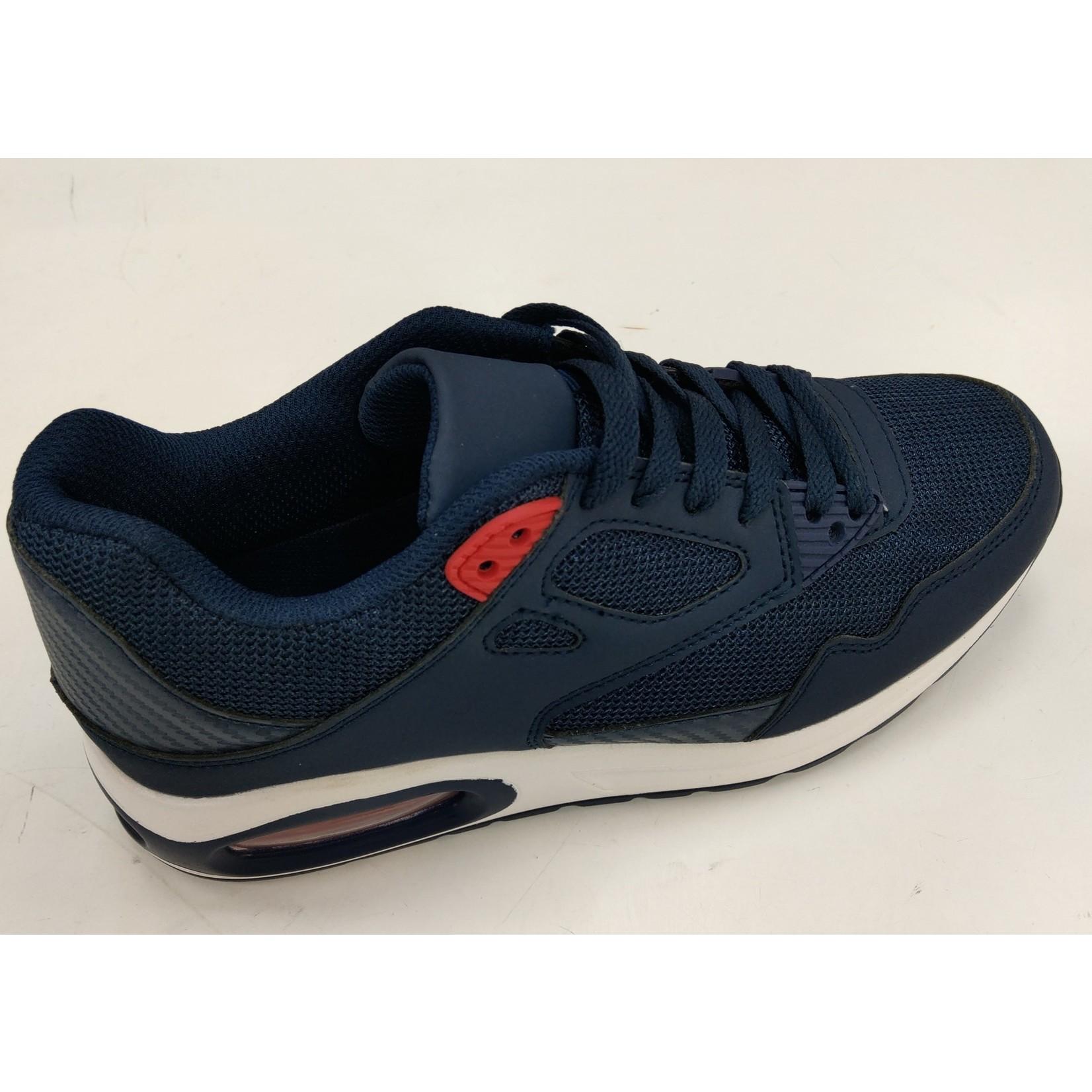 Sneaker blauw voorjaar