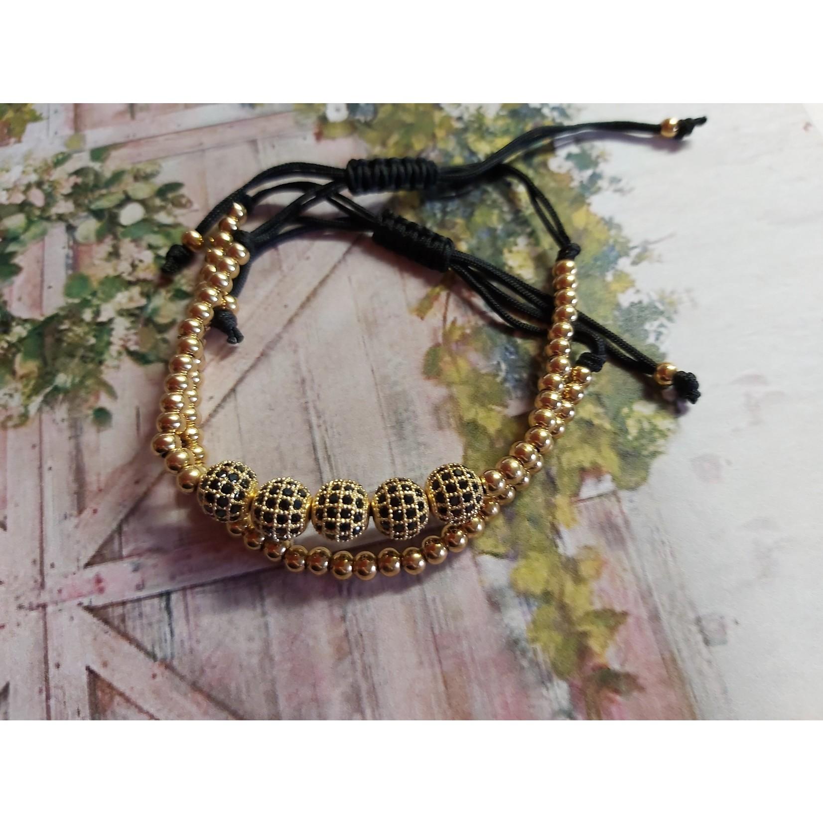 Gouden luxe armband