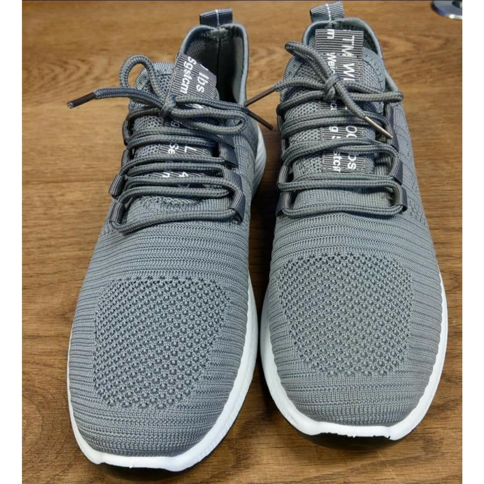 Running sneaker heren Grijs