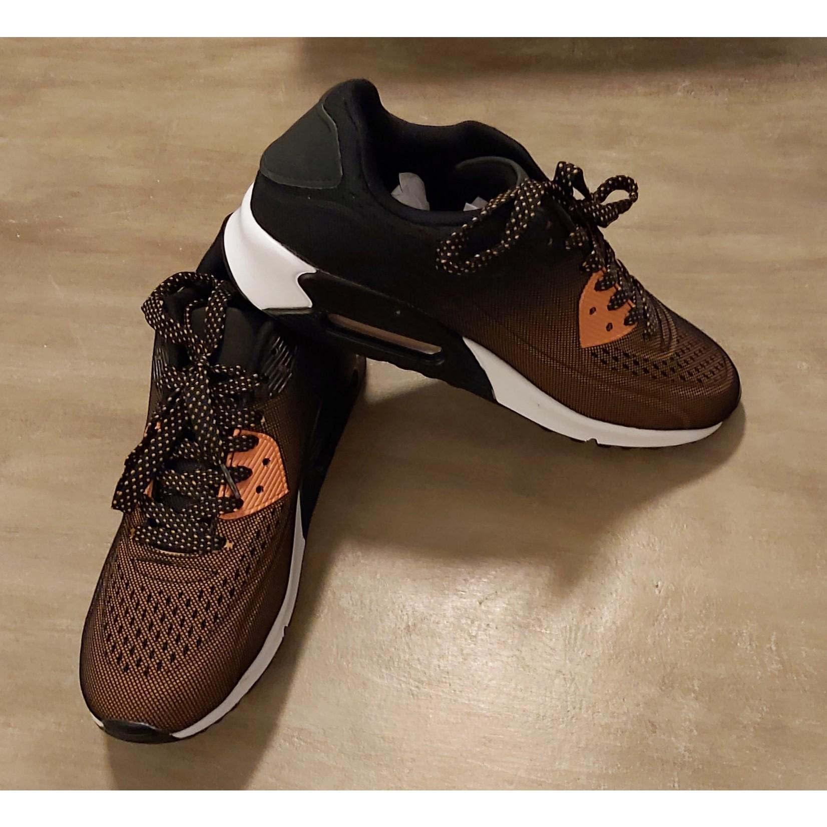 Sportieve sneaker unisex Camel/Zwart NEW