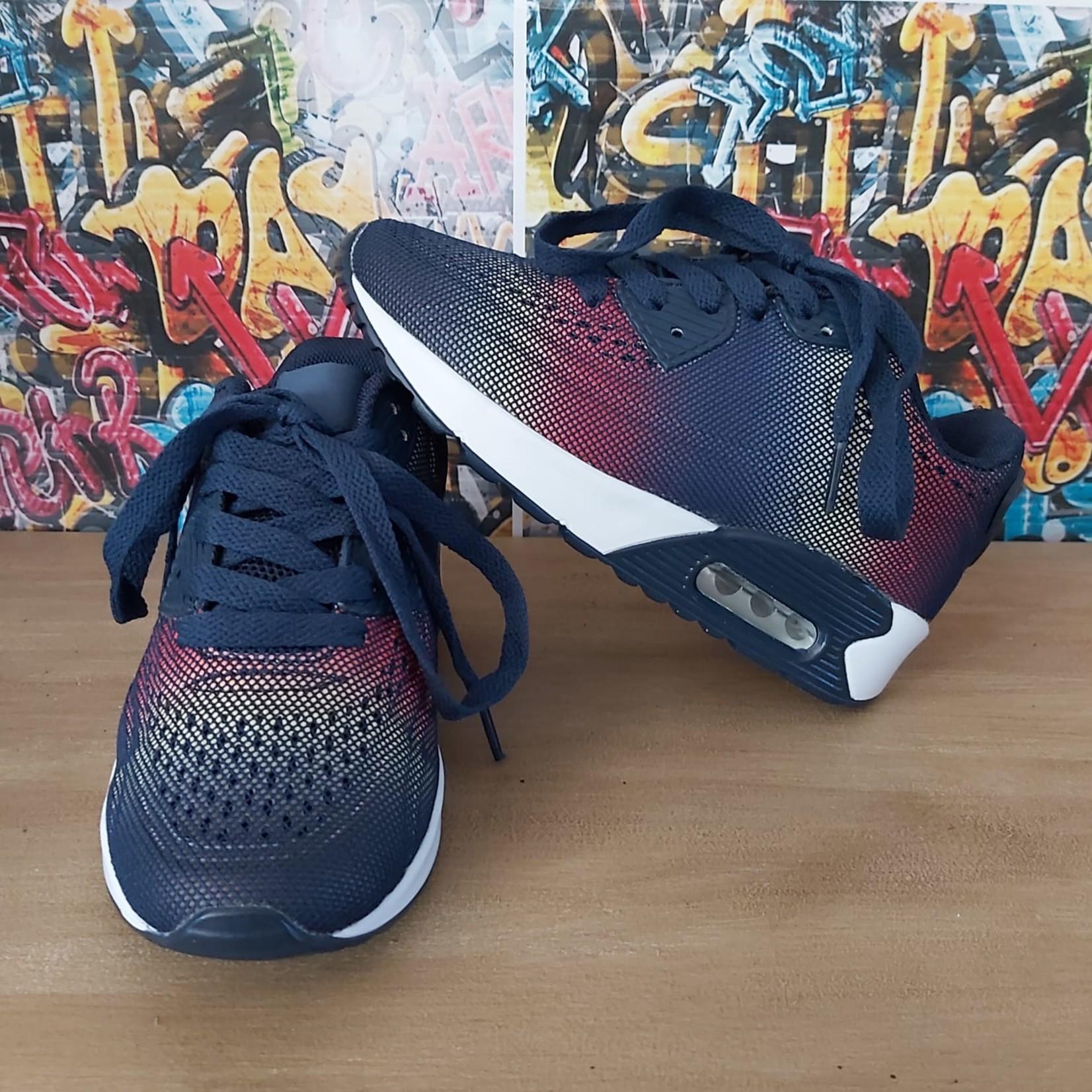 Sneaker Navy/Multicolor (Kids)